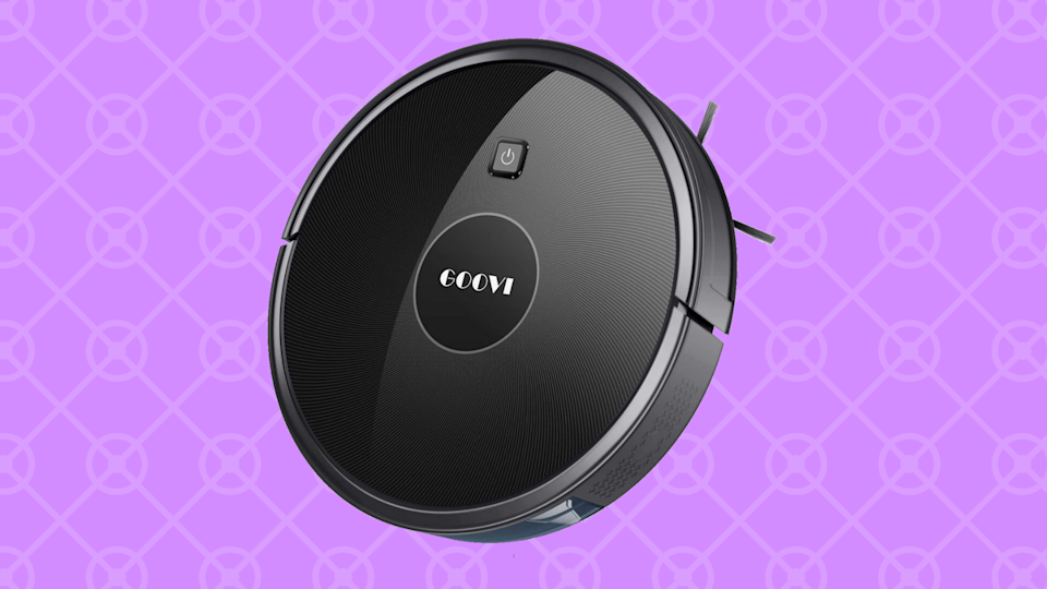 Save nearly 65 percent on the Goovi 1600PA Robotic Vacuum Cleaner. (Photo: Amazon)