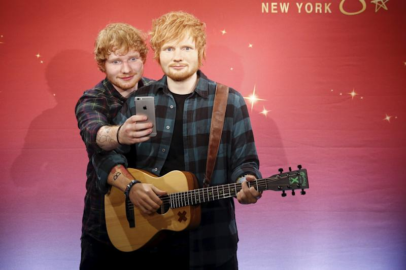 How to See Ed Sheeran? Head to London's National Portrait Gallery