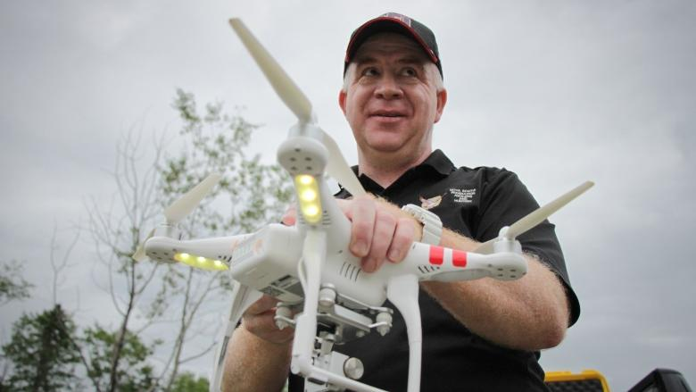 'Unethical' high-tech hunters using drones to find prey