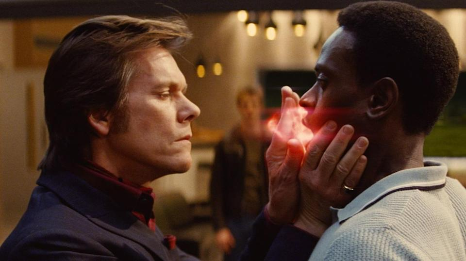 <p>Another bad guy role for Bacon – and they don't come more worse than a former Nazi scientist-turned-mutant supervillain, in director Matthew Vaughn's 1960s-set prequel which successfully revived the then-ailing 'X-Men' movies. (Picture credit: 20th Century Fox) </p>