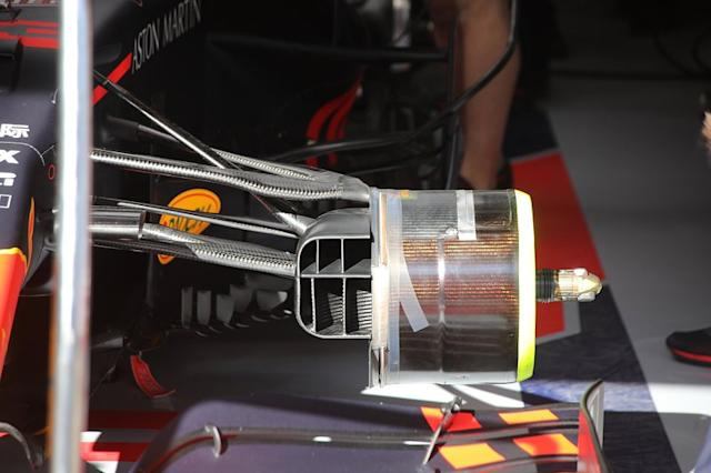 "Detalle del Red Bull Racing RB16 <span class=""copyright"">Giorgio Piola</span>"