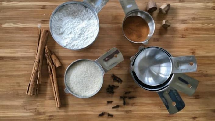 Measuring cups to perfect your baking