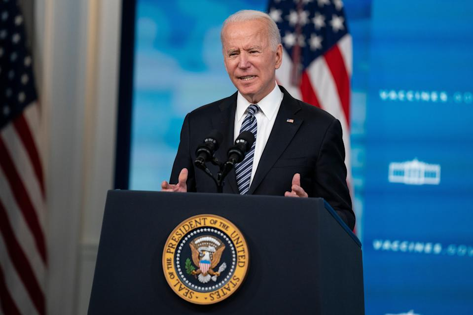 <p>The group Flag Officers 4 America questioned President Biden's health in an open letter</p> (AP)