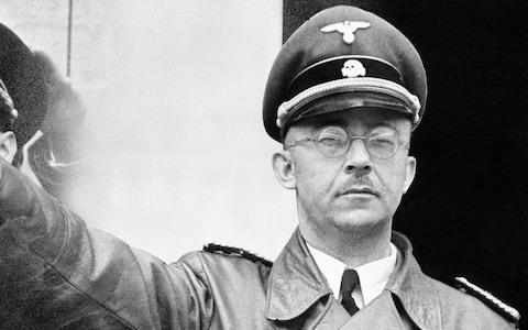 Ruth came face to face with Heinrich Himmler, the SS leader thought to be most responsible for the Final Solution after Adolf Hitler - Credit: AP