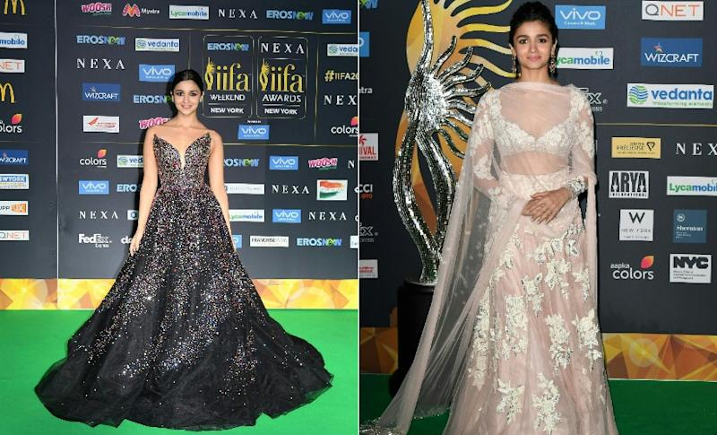 Alia Bhatt at IIFA Awards, 2017