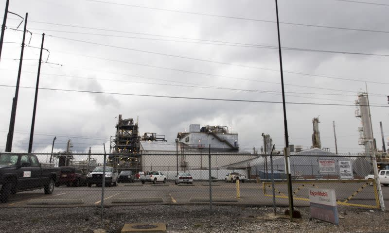 FILE PHOTO: A view of the Exxonmobil Baton Rouge Chemical Plant in Baton Rouge, Louisiana.
