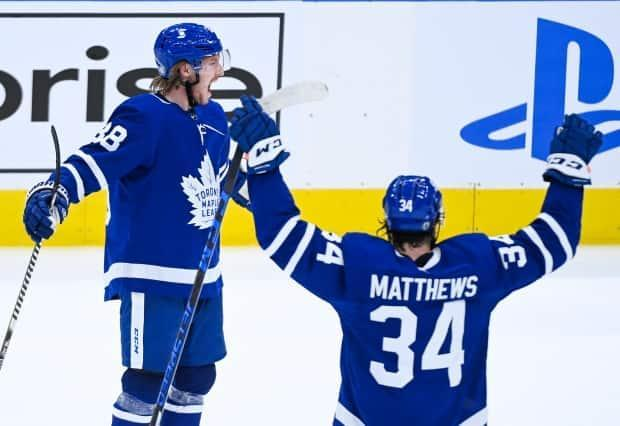 The Toronto Maple Leafs are set to take on their oldest rivals, the Montreal Canadiens, in Game 7 tonight at Scotiabank Arena. (Nathan Denette/The Canadian Press - image credit)