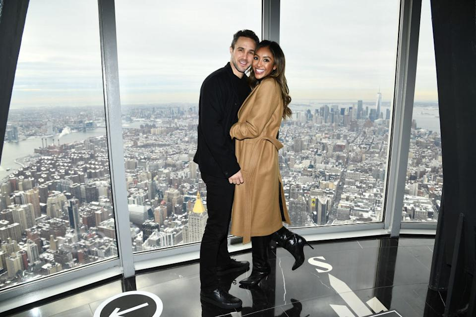 Zac Clark and Tayshia Adams got engaged in the 2020 edition of