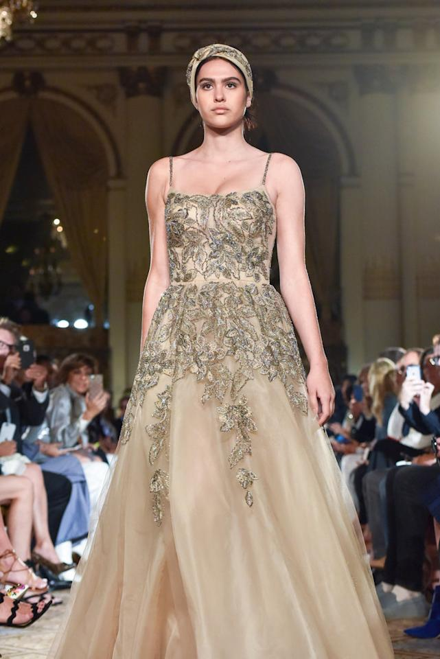 <p><strong>Parents:</strong> Lisa Rinna and Harry Hamlin<br /><strong>Spotted:</strong> Move over Jenners and Hadids, there's a new modelling duo in town. The 16-year-old is following in her older sister Delilah's footsteps and made her runway debut at New York Fashion Week where she opened and closed Dennis Basso's spring 2018 runway show.<br /><em>(Photo: Getty)</em> </p>