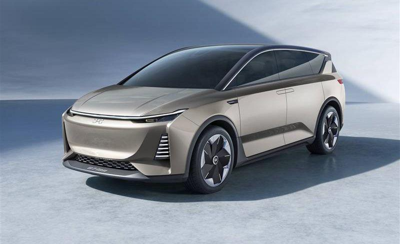 <p>Startup Aiways showed this SUV concept at Shanghai, on the heels of its smaller U5 SUV that was at the Geneva show in March 2019. </p>