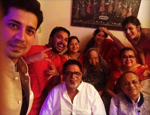 Namit Das with family