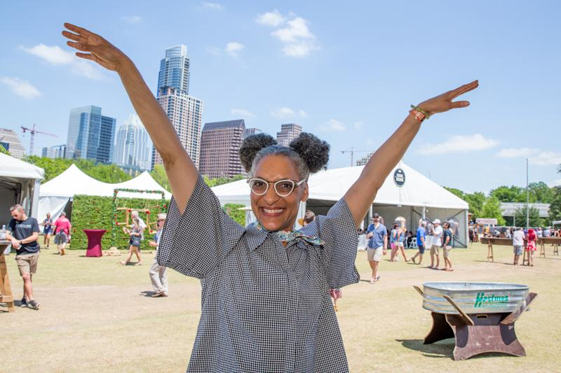 AUSTIN, TEXAS - APRIL 28: Chef Carla Hall attends the Austin FOOD & WINE Festival at Auditorium Shores on April 28, 2019 in Austin, Texas. (Photo by Rick Kern/Getty Images)
