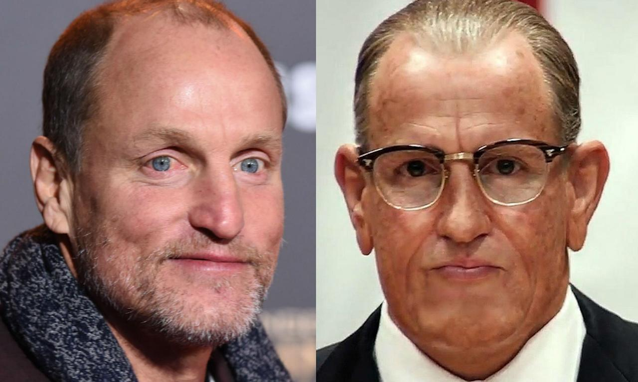 <p>Woody Harrelson becomes President Lyndon B. Johnson in <em>LBJ</em>. </p>