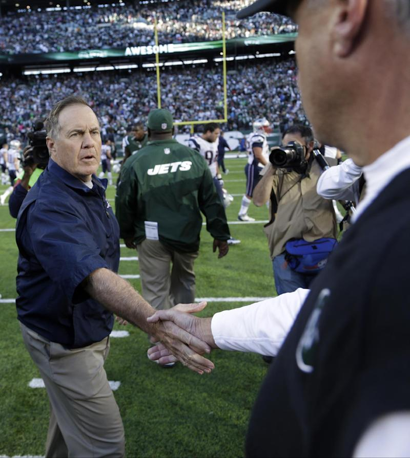 Rex to Belichick: 'Not true!' Jets also pushed