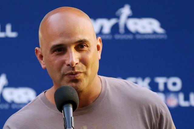 Talk show host Craig Carton was arrested on fraud charges Wednesday. (AP file photo)