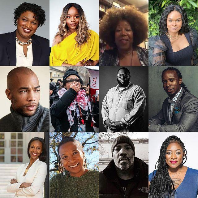 """<p>Amid nationwide protests over police brutality and systemic racism sparked by the death of <a href=""""http://people.com/tag/george-floyd"""" rel=""""nofollow noopener"""" target=""""_blank"""" data-ylk=""""slk:George Floyd"""" class=""""link rapid-noclick-resp"""">George Floyd</a>, Gomez decided to use her platform (she has 195 million Instagram followers) in June to <a href=""""https://people.com/music/selena-gomez-on-importance-amplifying-black-voices/"""" rel=""""nofollow noopener"""" target=""""_blank"""" data-ylk=""""slk:amplify the voices of 12 influential Black leaders"""" class=""""link rapid-noclick-resp"""">amplify the voices of 12 influential Black leaders</a> to help educate her fans on the history of social, political and economic discrimination against Black communities.</p> <p>The star turned her account over to <a href=""""https://www.instagram.com/chasinggarza/"""" rel=""""nofollow noopener"""" target=""""_blank"""" data-ylk=""""slk:Alicia Garza"""" class=""""link rapid-noclick-resp"""">Alicia Garza</a>, one of the co-creators of Black Lives Matter; <a href=""""https://www.instagram.com/jelani1906/"""" rel=""""nofollow noopener"""" target=""""_blank"""" data-ylk=""""slk:Jelani Cobb"""" class=""""link rapid-noclick-resp"""">Jelani Cobb</a>, a writer, author, and professor; <a href=""""https://www.instagram.com/kimberlecrenshaw/"""" rel=""""nofollow noopener"""" target=""""_blank"""" data-ylk=""""slk:Kimberlé Crenshaw"""" class=""""link rapid-noclick-resp"""">Kimberlé Crenshaw</a>, a civil rights advocate, lawyer and professor; <a href=""""https://www.instagram.com/sarahelizabethlewis1/"""" rel=""""nofollow noopener"""" target=""""_blank"""" data-ylk=""""slk:Sarah Elizabeth Lewis"""" class=""""link rapid-noclick-resp"""">Sarah Elizabeth Lewis</a>, an author and professor; <a href=""""https://www.instagram.com/ibramxk/"""" rel=""""nofollow noopener"""" target=""""_blank"""" data-ylk=""""slk:Ibram X. Kendi"""" class=""""link rapid-noclick-resp"""">Ibram X. Kendi</a>, a historian of racism and author; <a href=""""https://www.instagram.com/killermike/"""" rel=""""nofollow noopener"""" target=""""_blank"""" data-ylk=""""slk:Michael Render"""" class=""""link rapid-noclick-resp"""">Michael"""