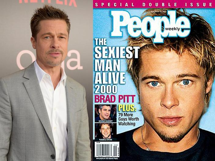 brad pitt people sexiest man 2