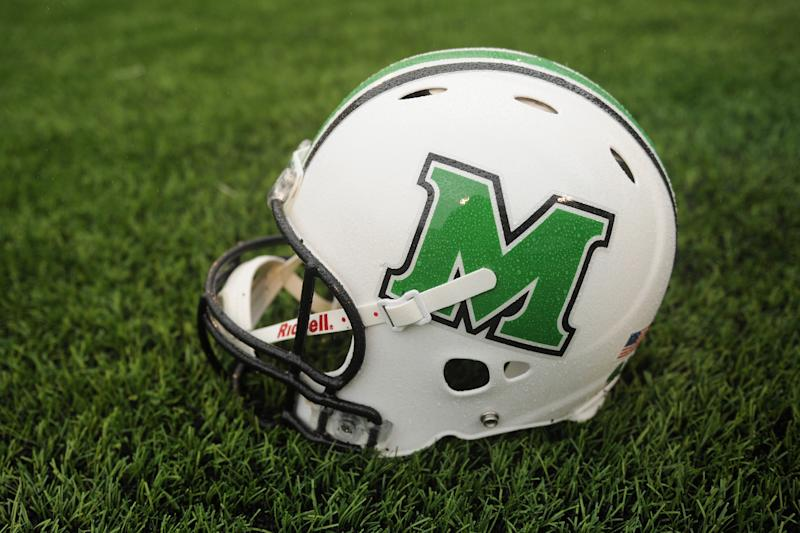Marshall football player Larry Aaron III has passed away