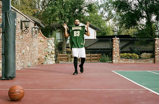 Drake has absolutely no shame about bandwagoning two of the NBA's top teams.