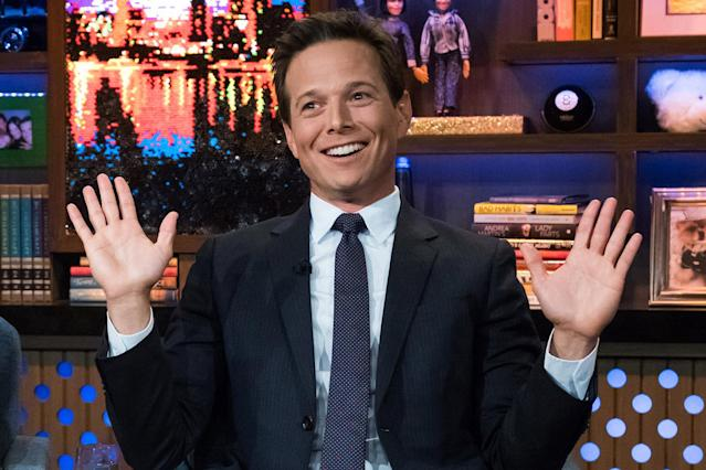Scott Wolf on <em>Watch What Happens: Live</em>. (Photo: Charles Sykes/Bravo/NBCU Photo Bank)