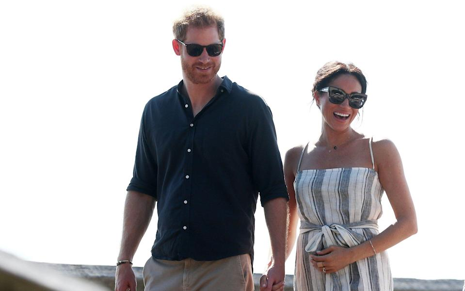The Duke and Duchess of Sussex on their official 16-day Autumn tour visiting cities in Australia, Fiji, Tonga and New Zealand - Chris Hyde/Getty Images AsiaPac