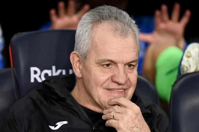 Start date: Leganes' Mexican coach Javier Aguirre says La Liga will resume on June 20 (AFP Photo/Josep LAGO)
