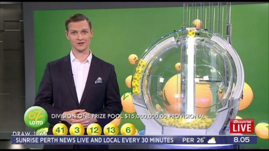 Someone in WA is $7.5 million richer after winning last night's Oz Lotto division one. Source: Sunrise
