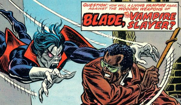 Morbius and Blade both have origins tied to Spider-Man - Credit: Marvel