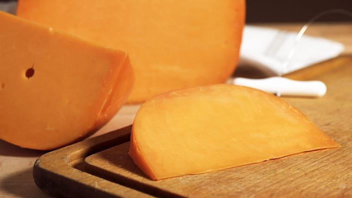 Mandatory Credit: Photo by Gerard Lacz/Shutterstock (1916182a)French Cheese called Mimolette, Cheese made from Cow's MilkVARIOUS.