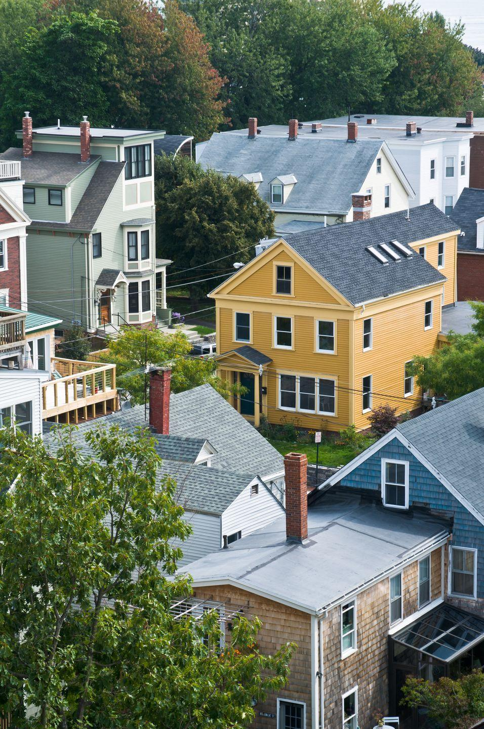 """<p>Think of a city in Maine and you'll probably automatically think of Portland, the state's most populous city. Here, it's easy to find a place where you can get away from it all, since <a href=""""https://artsandculture.google.com/entity/portland/m0c4kv?hl=en"""" rel=""""nofollow noopener"""" target=""""_blank"""" data-ylk=""""slk:more than one-third of Maine's total population"""" class=""""link rapid-noclick-resp"""">more than one-third of Maine's total population</a> lives in the Greater Portland area (which also makes it the most populous metropolitan area in northern New England!).</p>"""