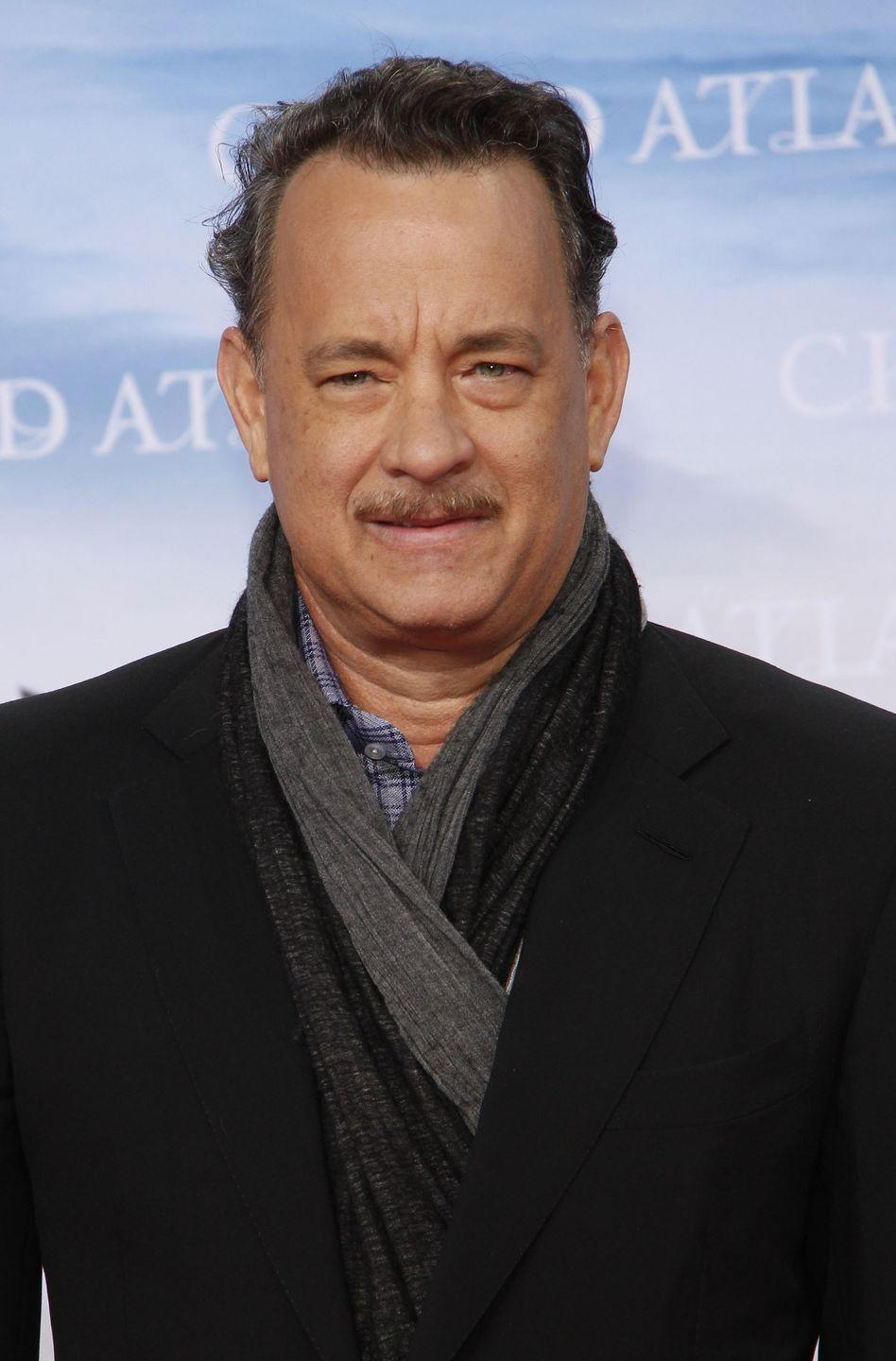 "<p>Despite saying he doesn't have a <a href=""https://www.etonline.com/movies/140681_Tom_Hanks_Says_Rita_Wilson_Hated_Saving_Mr_Banks_Mustache"" rel=""nofollow noopener"" target=""_blank"" data-ylk=""slk:&quot;mustache face,&quot;"" class=""link rapid-noclick-resp"">""mustache face,""</a> Tom Hanks sported one for the majority of 2012 for his role as Walt Disney in <em>Saving Mr. Banks</em>. </p>"