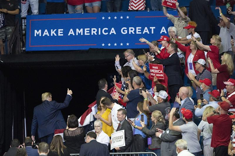 How Can Trump Fix His Campaign? By Governing Better.