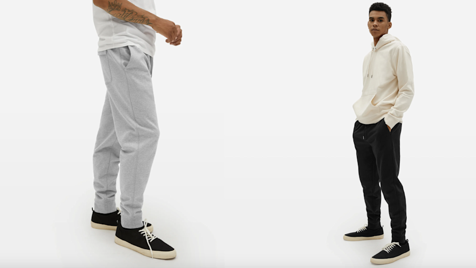 Men's clothing, shoes and accessories are on sale at Everlane.