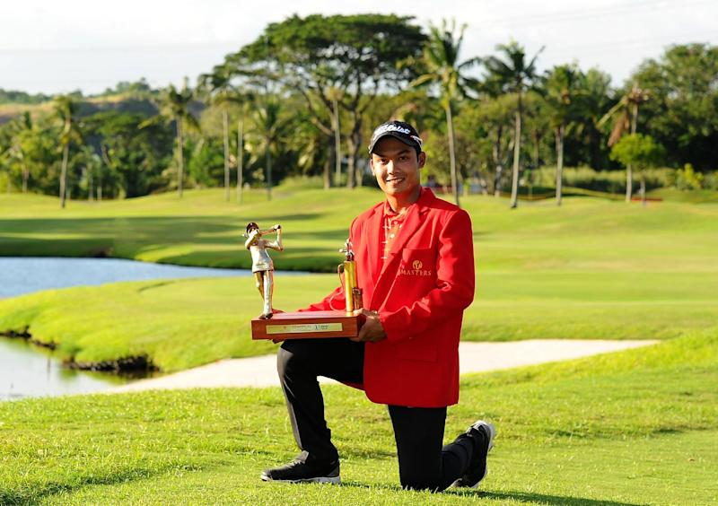 Golf - Rookie Srithong clinches Manila Masters in thrilling style