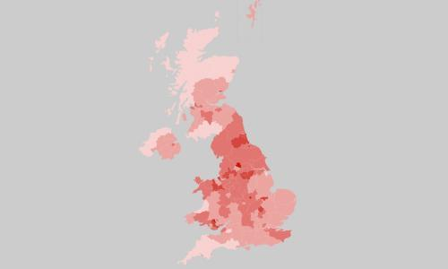 Coronavirus UK map: confirmed Covid cases and deaths today