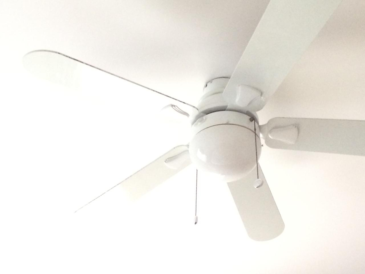 """<p>If you have fans in your house, use them. If you don't, considering installing a few. Fans can go a long way to cooling down a room and take up a lot of less energy than having your air conditioning on full blast. Having fans in your house allows you to program your thermostat up to 4 degrees higher because of the air circulation they provide.<span> Make sure your fans are set to spin counterclockwise at higher speeds to <a rel=""""nofollow"""" href=""""http://www.countryliving.com/home-maintenance/a43004/ceiling-fan-money-saving-tip/"""">save even more.</a></span></p>"""