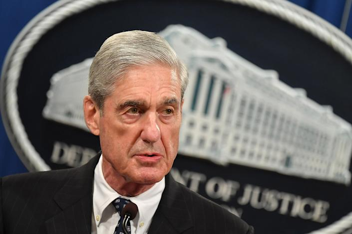 Special counsel Robert Mueller on May 29. (Photo: Mandel Ngan/AFP)