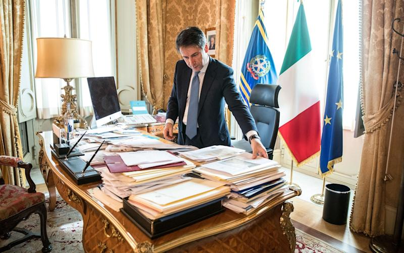 Italian Prime Minister Giuseppe Conte claims the rejected budget would stimulate growth - Bloomberg