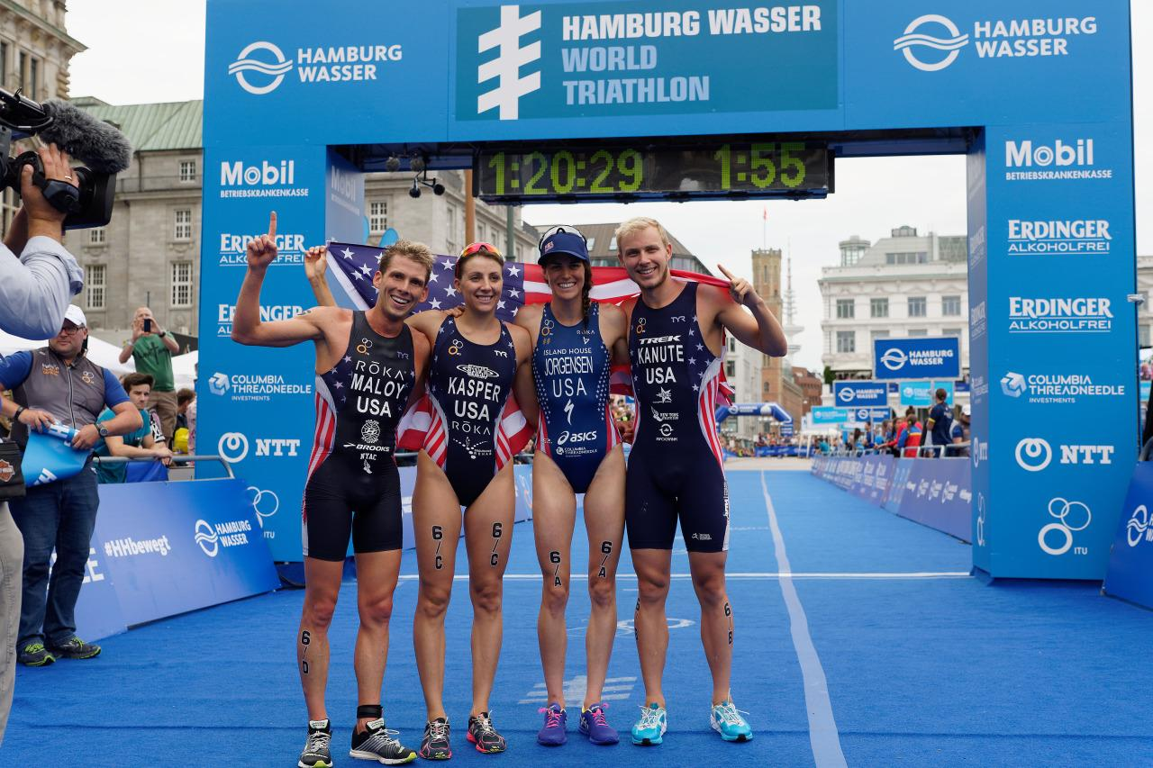 <p><b>Reason: </b>The U.S. has only been on the podium once since triathlon was added in 2000. Since then 18 different men and women have competed for Olympic glory in triathlon for, with only one, Susan Williams, earning bronze in 2004 in Greece. But three women have been on the cusp of getting a medal, finishing fourth in Sydney, Beijing and London. The best performance from any American man was a seventh-place finish in 2008. But hopes are high for the Team USA triathletes after winning <br /></p><p><b>4. Rhythmic Gymnastics </b><br /></p>