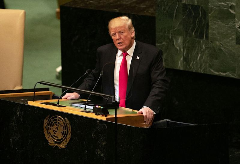 Trump Says He Prefers 'Two-State Solution' for Mideast Peace