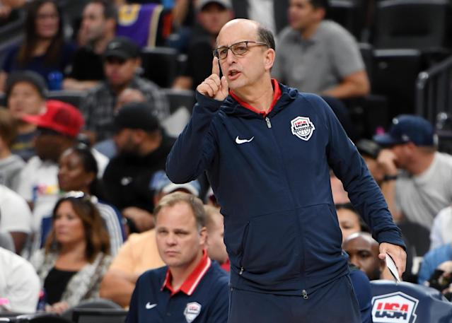 Jeff Van Gundy's most recent coaching experience comes with USA Basketball. (Ethan Miller/Getty Images)