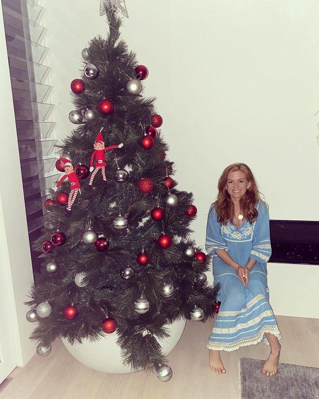 """<p>""""What makes this a Chanukah bush rather than a Christmas tree? The fact that both these elves were circumcised. Merry Christmas from our family to yours ❤️.""""</p><p><a href=""""https://www.instagram.com/p/CJOBsbKAvYa/"""" rel=""""nofollow noopener"""" target=""""_blank"""" data-ylk=""""slk:See the original post on Instagram"""" class=""""link rapid-noclick-resp"""">See the original post on Instagram</a></p>"""