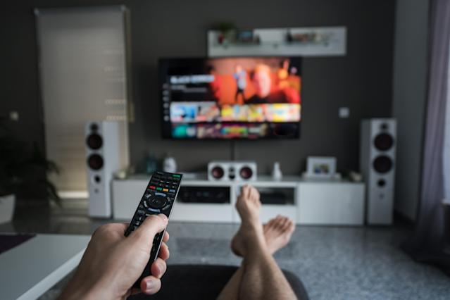 This Amazon Fire Stick means you never have to leave the sofa. (Getty Images)