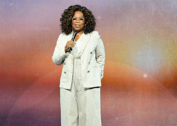 PHOTO: Oprah Winfrey speaks during Oprah's 2020 Vision: Your Life in Focus Tour presented by WW (Weight Watchers Reimagined) at Chase Center, Feb. 22, 2020, in San Francisco. (Steve Jennings/Getty Images, FILE)