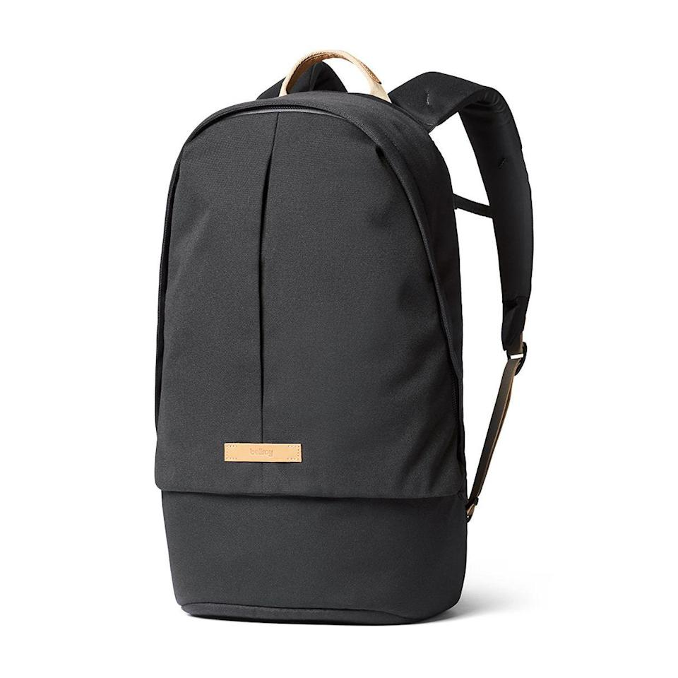 """<p><strong>Bellroy</strong></p><p>huckberry.com</p><p><a href=""""https://go.redirectingat.com?id=74968X1596630&url=https%3A%2F%2Fhuckberry.com%2Fstore%2Fbellroy%2Fcategory%2Fp%2F60586-classic-backpack-plus-recycled&sref=https%3A%2F%2Fwww.menshealth.com%2Fstyle%2Fg33472054%2Fhuckberry-semi-annual-summer-sale-mens-deals%2F"""" rel=""""nofollow noopener"""" target=""""_blank"""" data-ylk=""""slk:BUY IT HERE"""" class=""""link rapid-noclick-resp"""">BUY IT HERE</a></p><p><del>$179.00</del><strong><br>$142.98</strong></p><p>If you want to switch up your routine and go for a socially distanced hike, this backpack has plenty of room for snacks, masks, and hand sanitizer. Plus, it can double as a stylish commuter bag once you're able to go back to the office. </p>"""