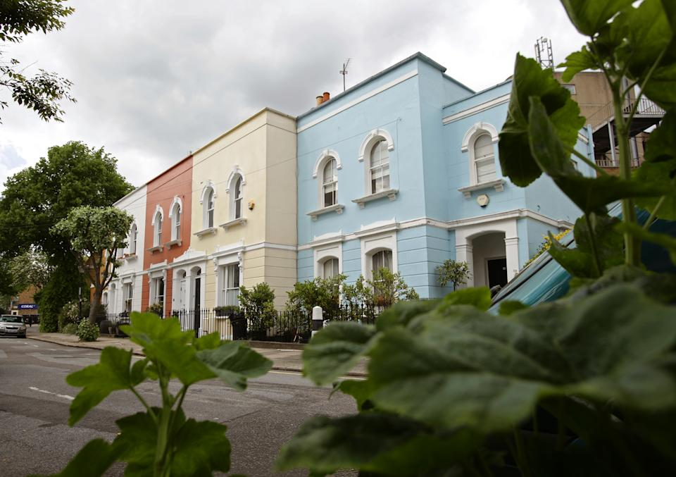 Properties in Kentish Town, north London, as new Office for National Statistics (ONS) data showed average UK house prices hitting a new record high. Photo: PA.