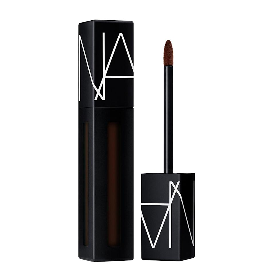 "<p>""Well, all I can say is that when it comers to the <span>Nars Powermatte Lip Pigment in Done It Again</span> ($26), the brand has done again with this excellent texture and formula. Plus, it's the deepest of rich-red browns that looks and feels great on the lips. I also find that it stays put without feeling dry or flaky and is comfortable to wear,"" said Graham.</p>"