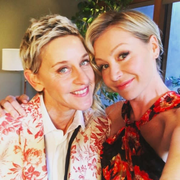 Ellen opens up about life with Portia de Rossi, and happy tears forever