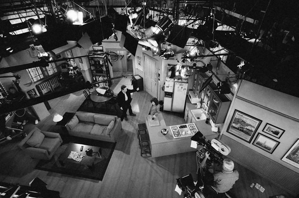 """<p>Here's an aerial view of Seinfeld's apartment, of which a <a href=""""https://nypost.com/2015/06/23/you-can-now-visit-the-iconic-seinfeld-set-in-new-york/"""" rel=""""nofollow noopener"""" target=""""_blank"""" data-ylk=""""slk:replica was created"""" class=""""link rapid-noclick-resp"""">replica was created</a> for visitors to New York City.</p>"""