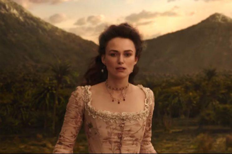 Knightley... is back for Pirates of the Caribbean 5 - Credit: Disney